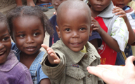 Feeding and clothing the children in Africa with Betty Swann Ministries