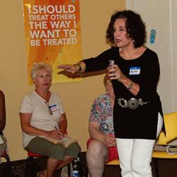 Betty Swann teaching